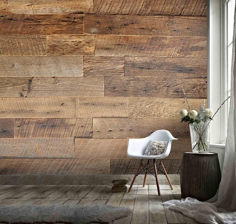 3d Dry Wood Texture Wallpaper Removable Self Adhesive Etsy In 2021 Wood Texture Textured Wallpaper Wooden Wallpaper