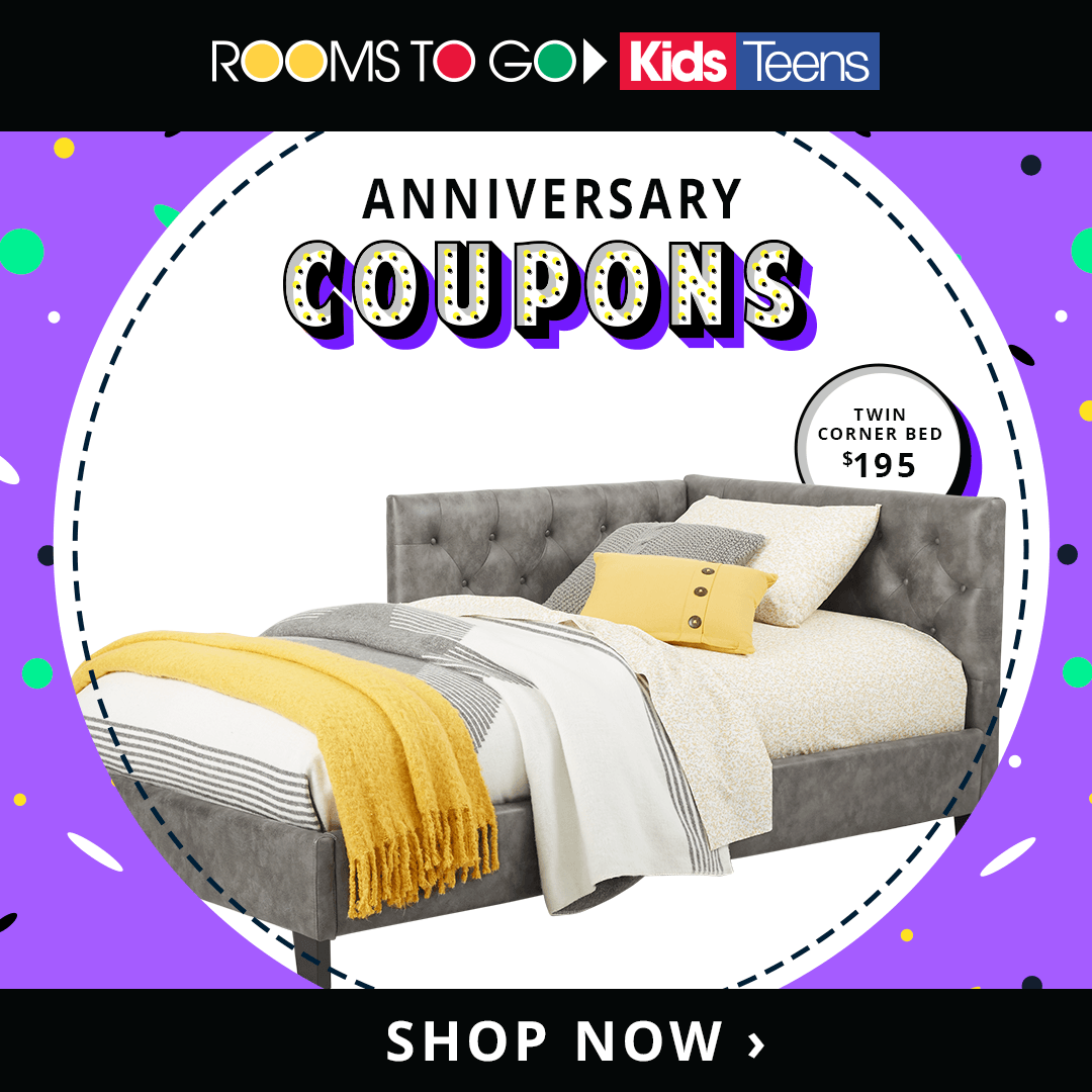 Anniversary Coupons are here! Shop today for exclusive
