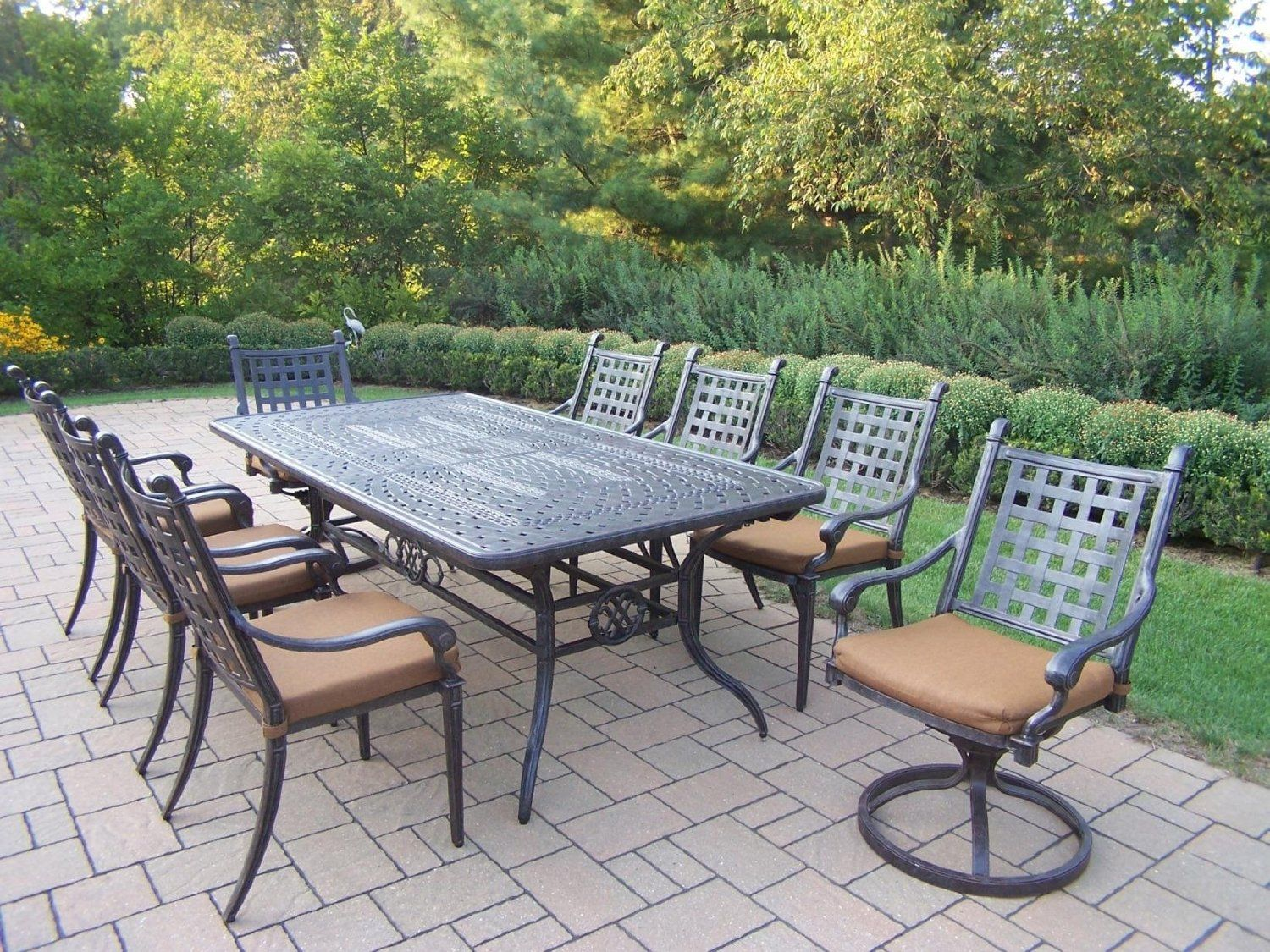 outdoor dining sets for 8 metal patio dining furniture for patios pinterest and