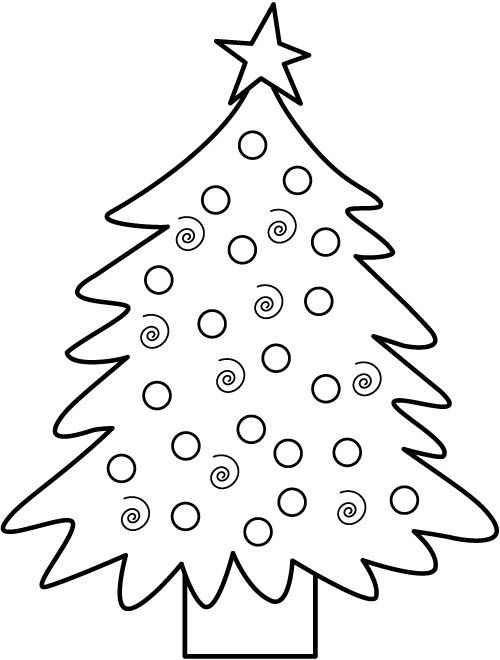Christmas Trees And Bells Coloring Pages To Print Christmas Tree Coloring Page Printable Christmas Coloring Pages Tree Coloring Page