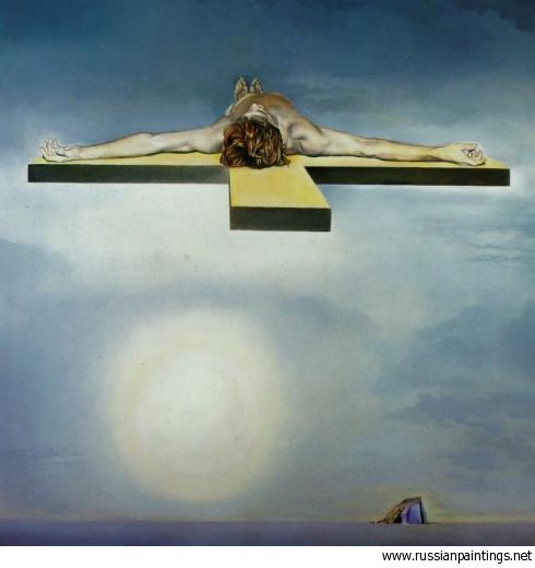 Dali Salvador Gala S Christ Stereoscopic Work Left Component