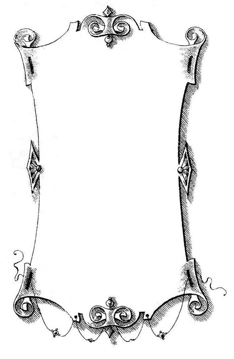 shabbychicmotiveausdruckenblattpapierrahmen  Bastelideen