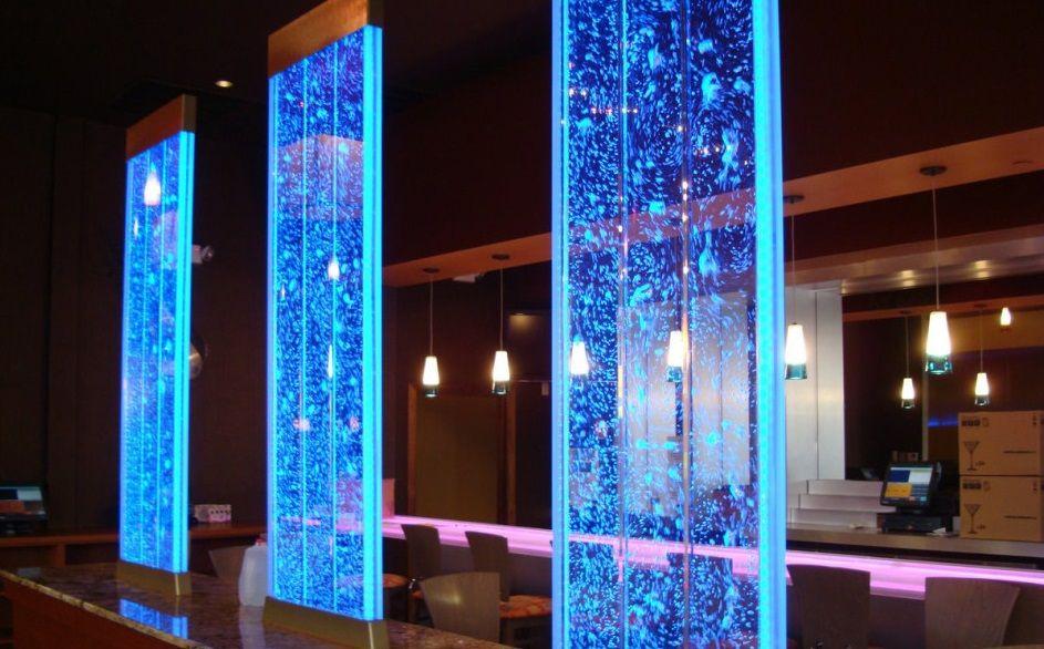 breathtaking indoor outdoor carpet living room | Breathtaking indoor and outdoor water walls, transparent ...