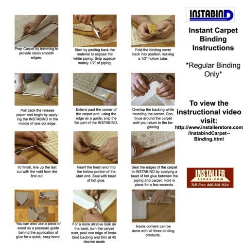 Instabind Malt Carpet Binding