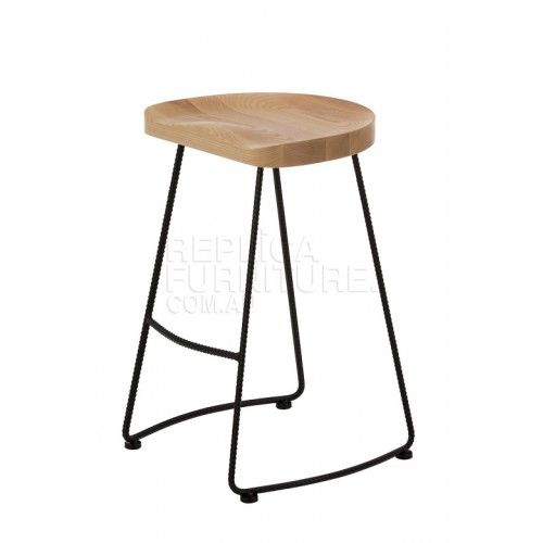 Tractor Stool Farmhouse 65cm Counter Height With Images