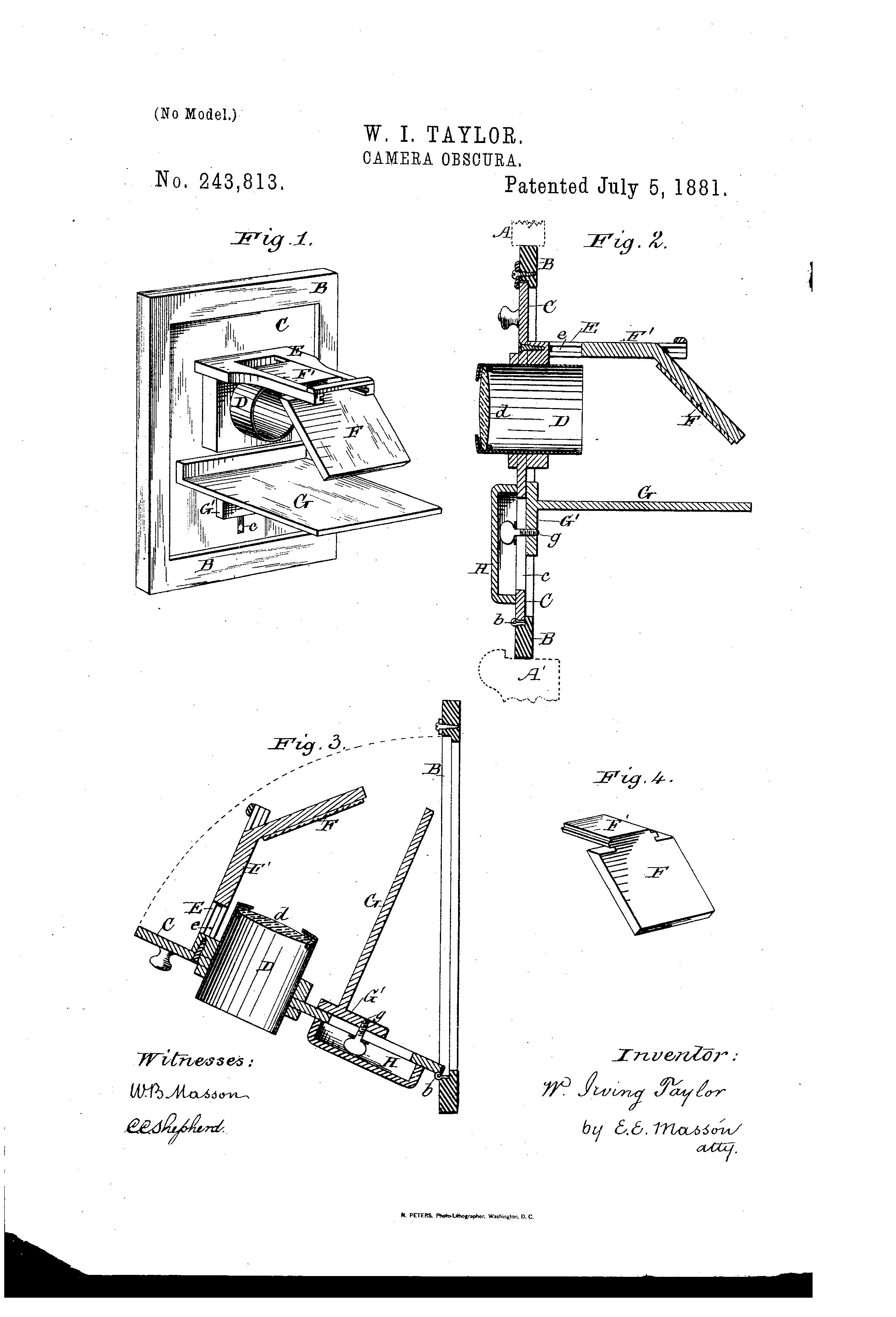 patent us243813