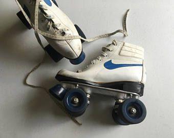 Vintage 70s Nike Roller Skates Royal Blue White Vintage Nike Vintage Nike