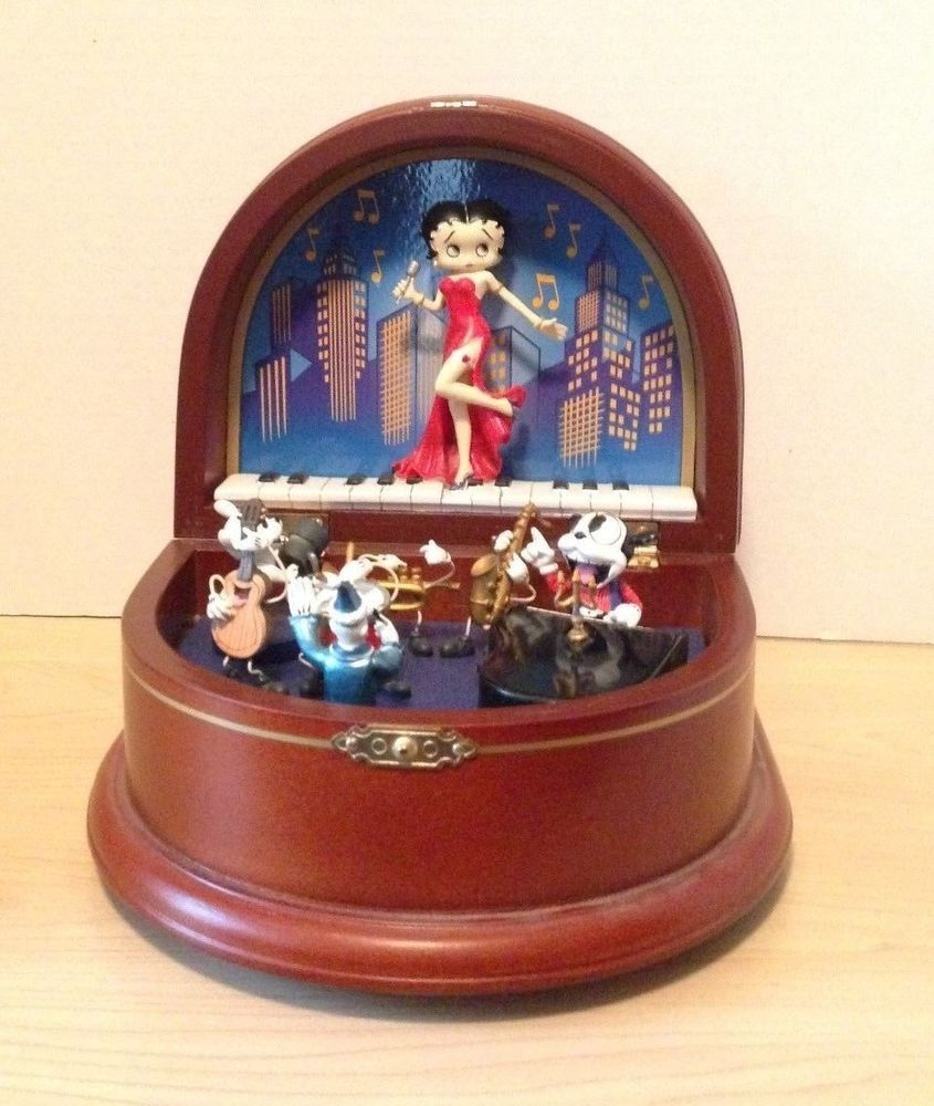 Betty Boop Music Box By Danbury Mint