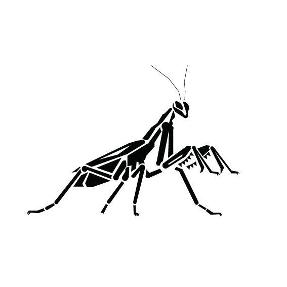 Pray Mantis Line Drawing Google Search Mantis Tattoo Sleeve