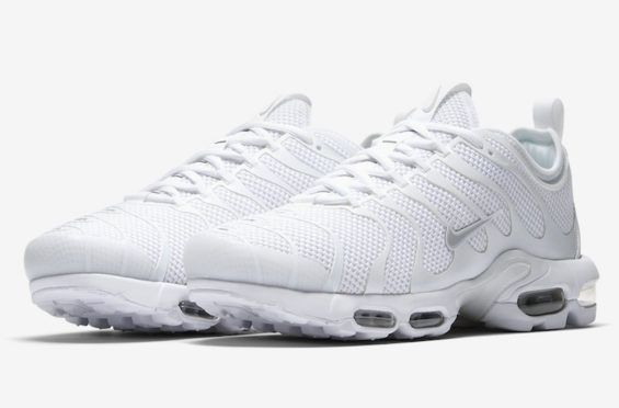 The Nike Air Max Plus TN Ultra Gets The Triple White Treatment