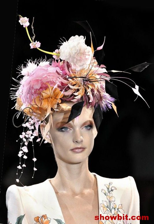 Philip treacy - my favorite of all his work was this collection of Japanese  inspired works. 564b9c2aa4f