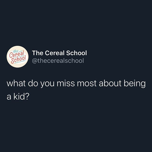 The Cereal School In 2020