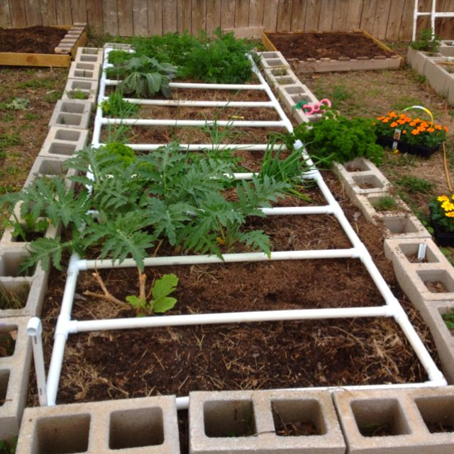 Pvc Drip Irrigation System For My Raised Beds