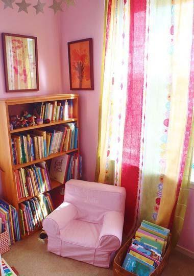 Julia\u0027s Reading Corner Rincones de lectura, Lectura y Decoración