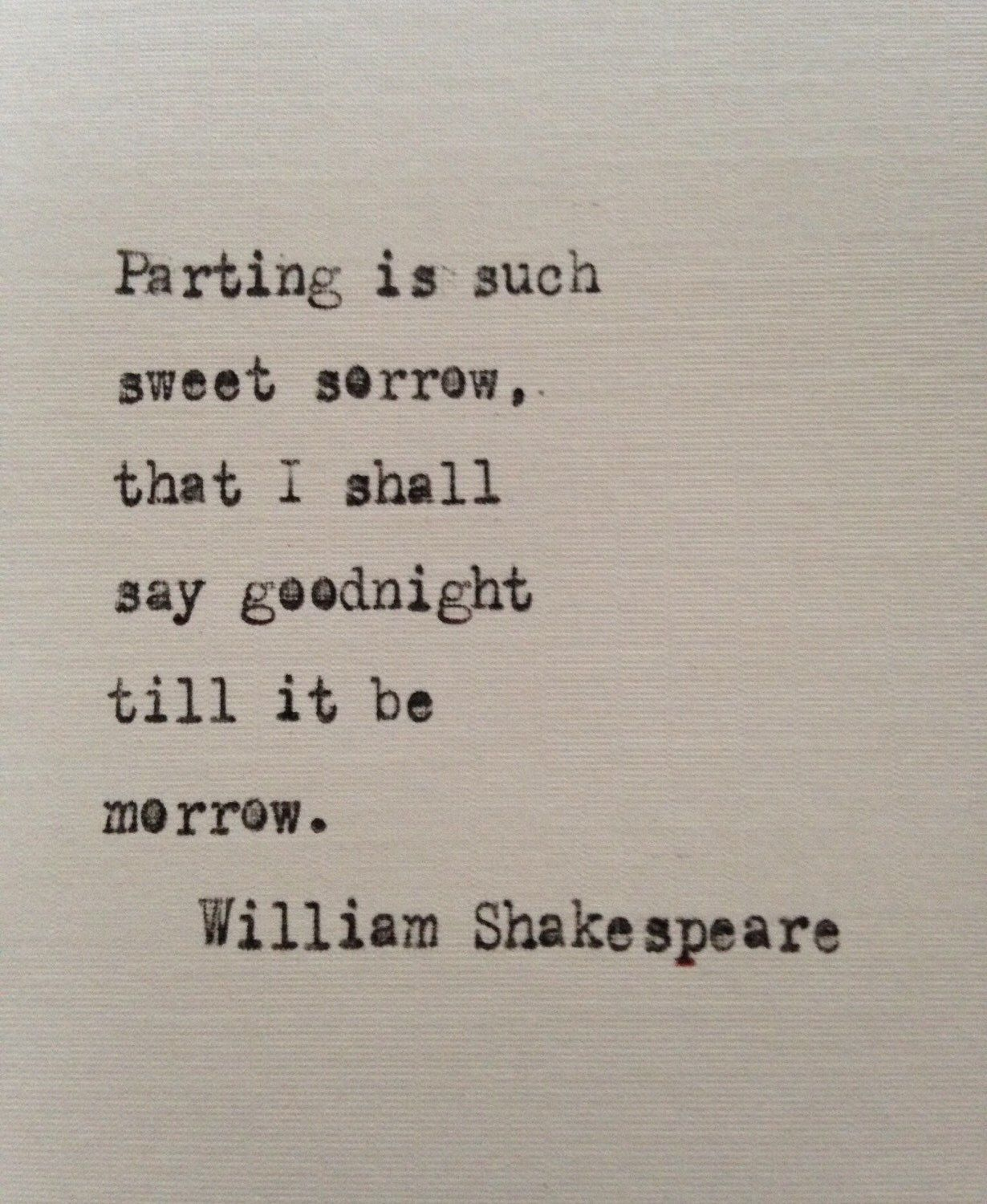 William Shakespeare Romeo and Juliet quote typed on ...William Shakespeare Romeo And Juliet Quotes