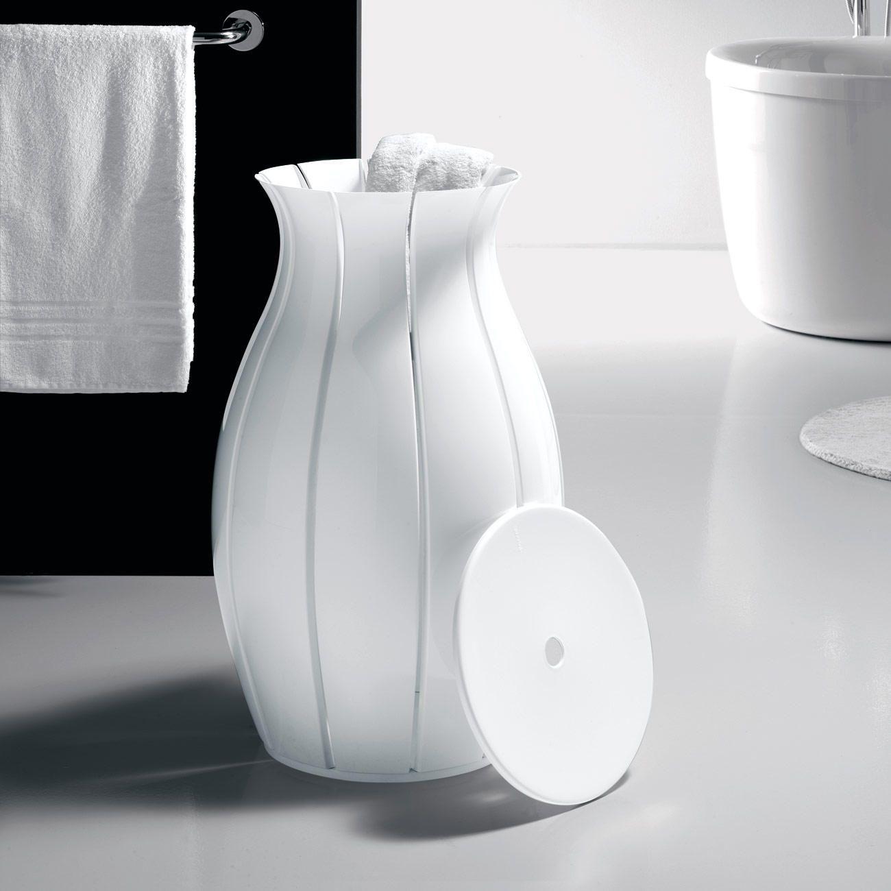 Wasmand `Amphora´ - Een blikvanger op uw edele badkamer: de wasmand ...