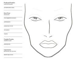 Mac makeup face charts free makeupview mac makeup face chart template homeschoolingforfree org maxwellsz