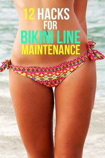 Maintain bikini line