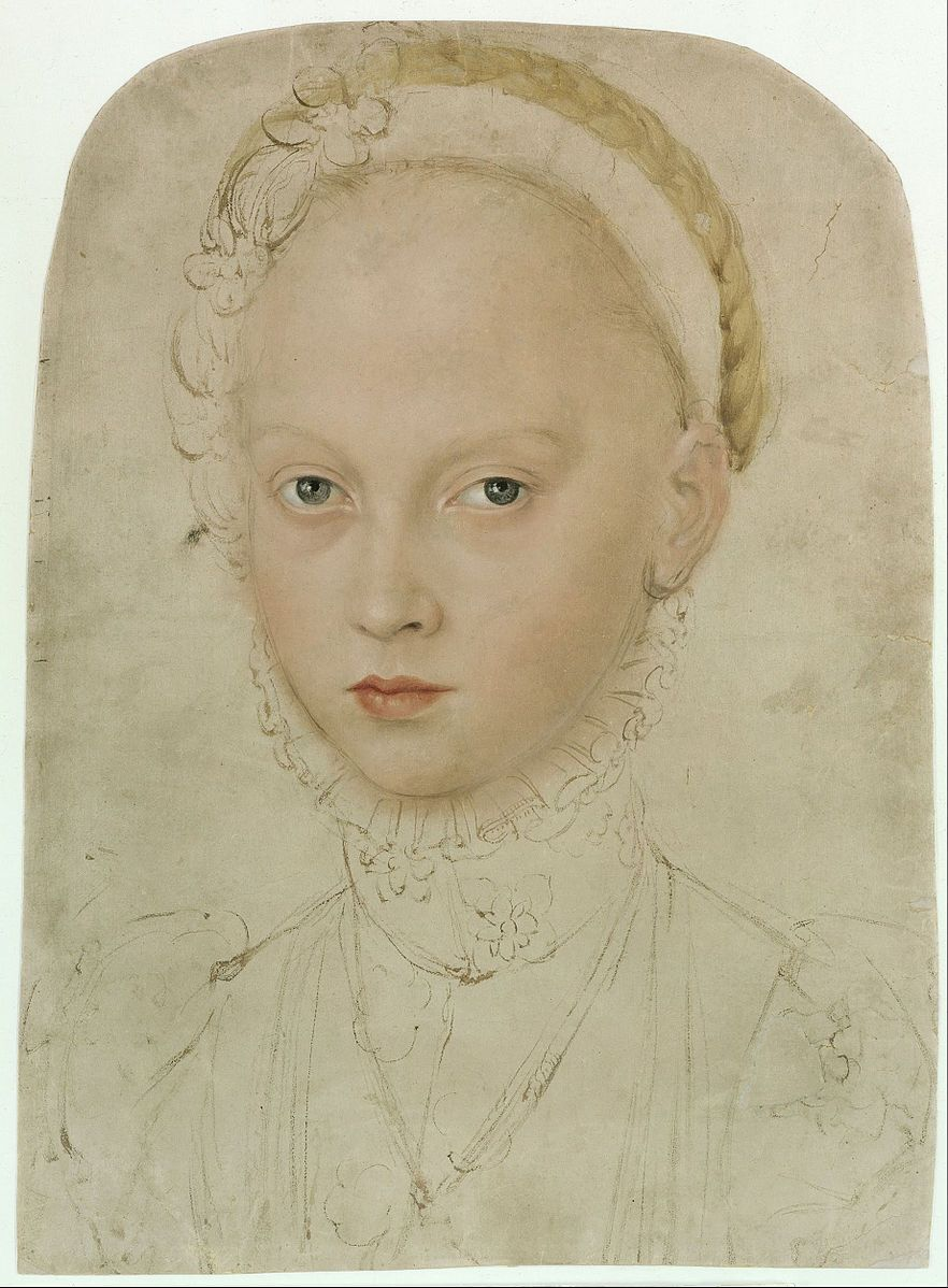 """Elisabeth of Saxony Countess Palatine of Simmern 1552 at Wolkenstein Castle in Wolkenstein+1590 in Heidelberg) daughter of the Elector August of Saxony (1526–1586-son of Duke Heinrich IV.""""Fromme"""")from his marriage to Anna (1532–1585), daughter King of the Christian III of Denmark.  She married on 4 June 1570 in Heidelberg during the Diet of Speyer with Count Palatine John Casimir of Simmern (1543–1592). August opposed the policies of John Casimir, who was a Calvinist and friendly to France…"""