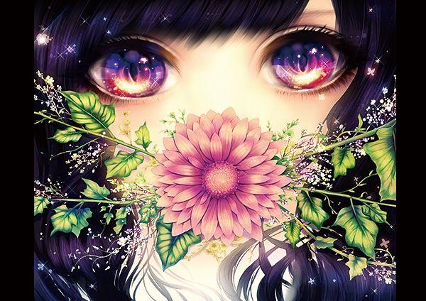 Tags Anime Ragi Pluie Close Up Beautiful Eyes Sparkles