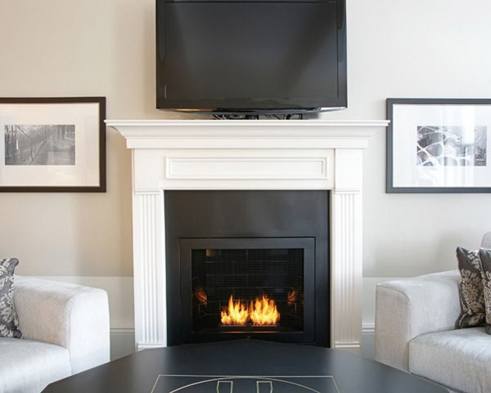 Family room decorating ideas with fireplace home for Interior fireplaces designs