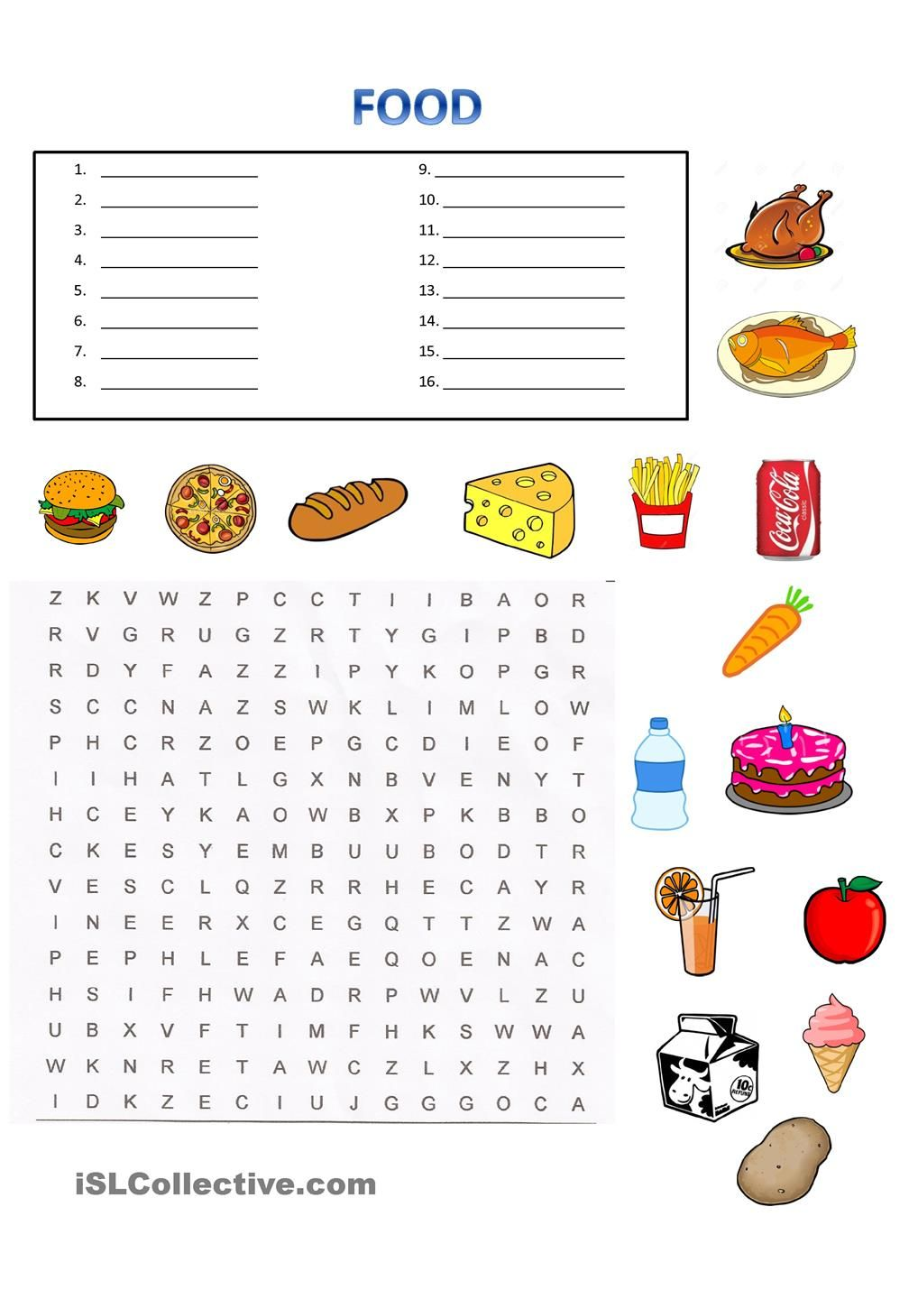 Workbooks spanish food worksheets : Pin by Mari Perätalo on Enkku | Pinterest | Foods, English and ...