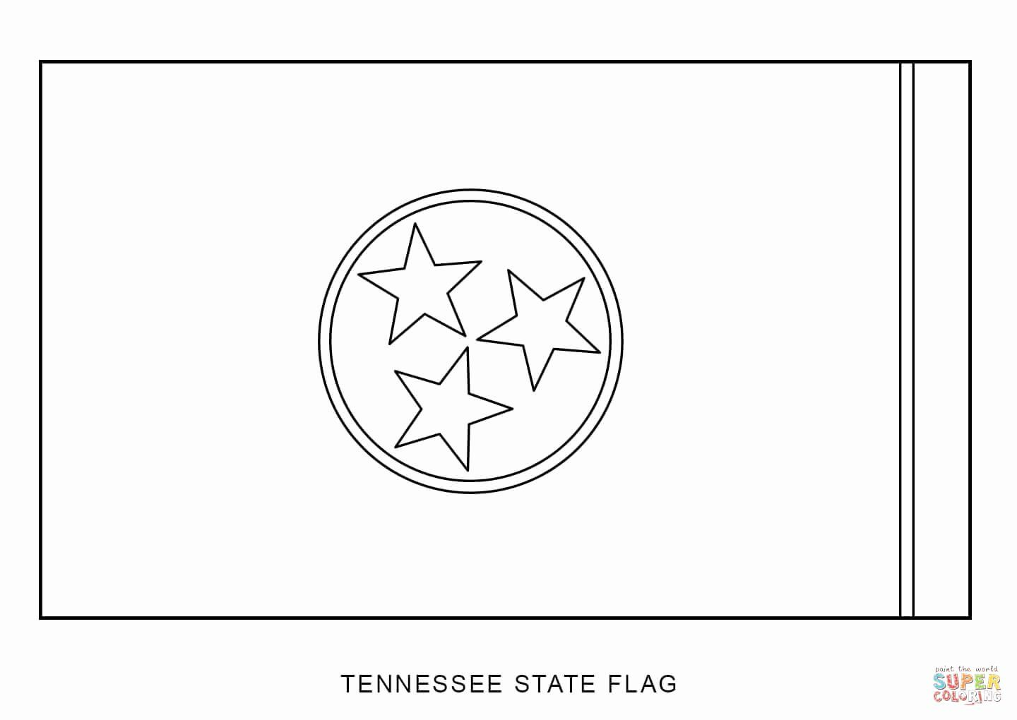 California Flag Coloring Pages In