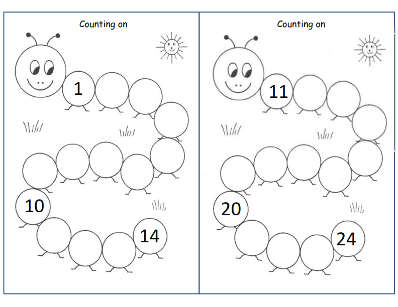 [math] Counting On 1 - 24