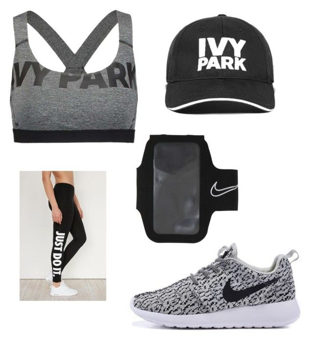 """""""Work out"""" by ritagjekaj ❤ liked on Polyvore featuring Ivy Park and NIKE"""