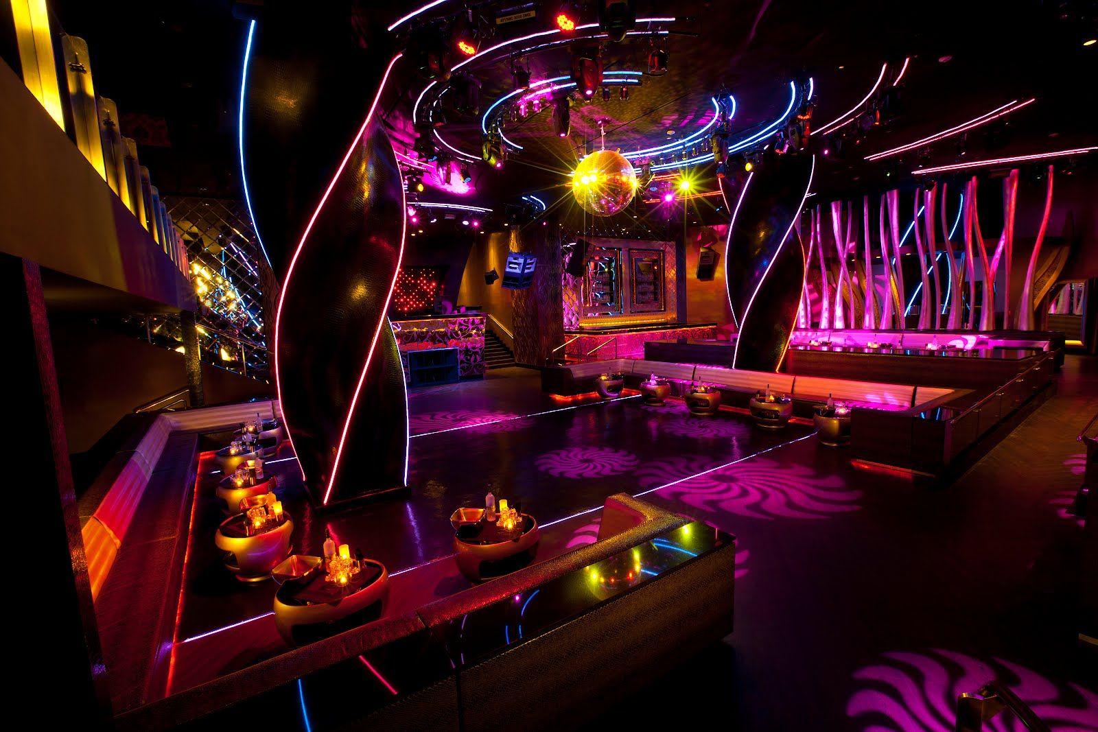 Vip Area Hard Rock Hotel Night Club Nightclub Design