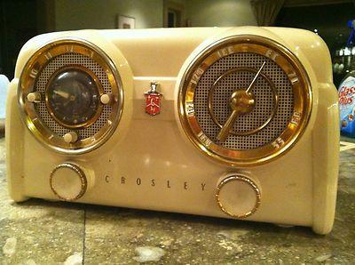 Crosley D 25 Tn Vintage Radio Super Cool Tube Radio Ebay Radios Radio Tv