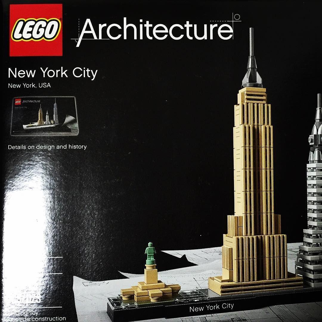 Mar 15 2016  - 두근두근 #그어떤명품가방보다설래는 #legoarchitecture #newyorkcity #legostagram #bestgiftever by park_kon