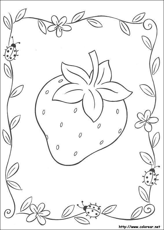 Worksheet. Resultado de imagen para dibujos para imprimir de frutillita y sus