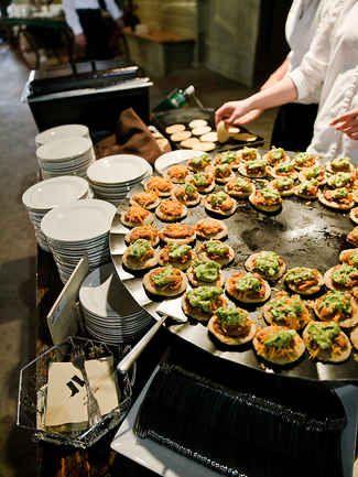 15 Creative Wedding Menu Ideas Wedding Food Menu Reception Food Wedding Food Stations