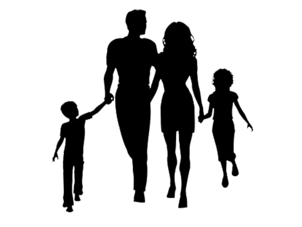 Family Therapy Child Stepfamily Mother Family Png Download 1024 768 Free Transparent Family Family Silhouette Family Silhouette Art Children Silhouettes