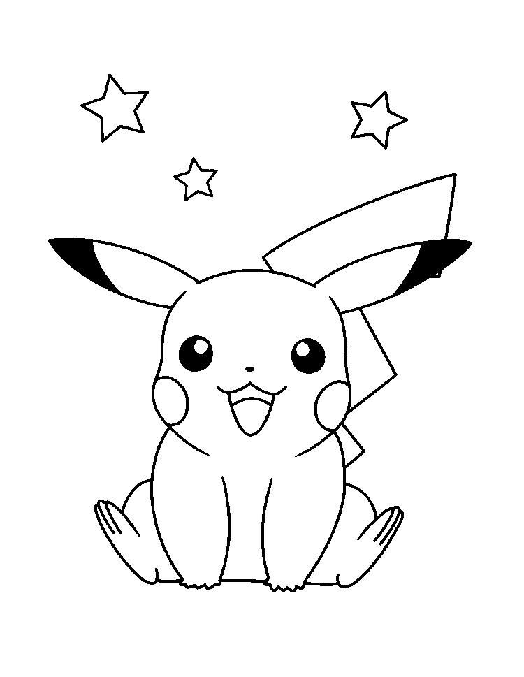 Pikachu Colouring Pages For Kids Pikachu Coloring Page Pokemon Coloring Pages Pokemon Coloring
