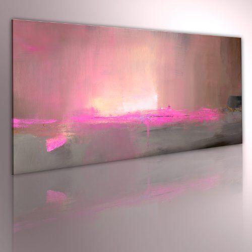 murando handgemalte bilder auf leinwand abstrakt 100x40 cm 1 teilig 100 unikat gemalde leinwandbilder gemalten wandbild malerei kunst beige ros moderne fotoleinwand günstig bestellen a0