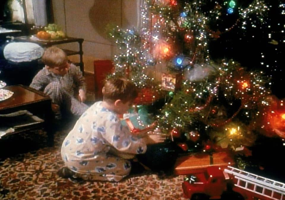 Ralphie and Randy under the tree ) in 2019 Christmas