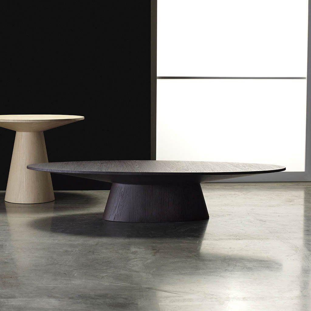 Modloft Eyre Black Oak Coffee Table At Artesanos Artesanos Design Collection Oval Coffee Tables Coffee Table Table
