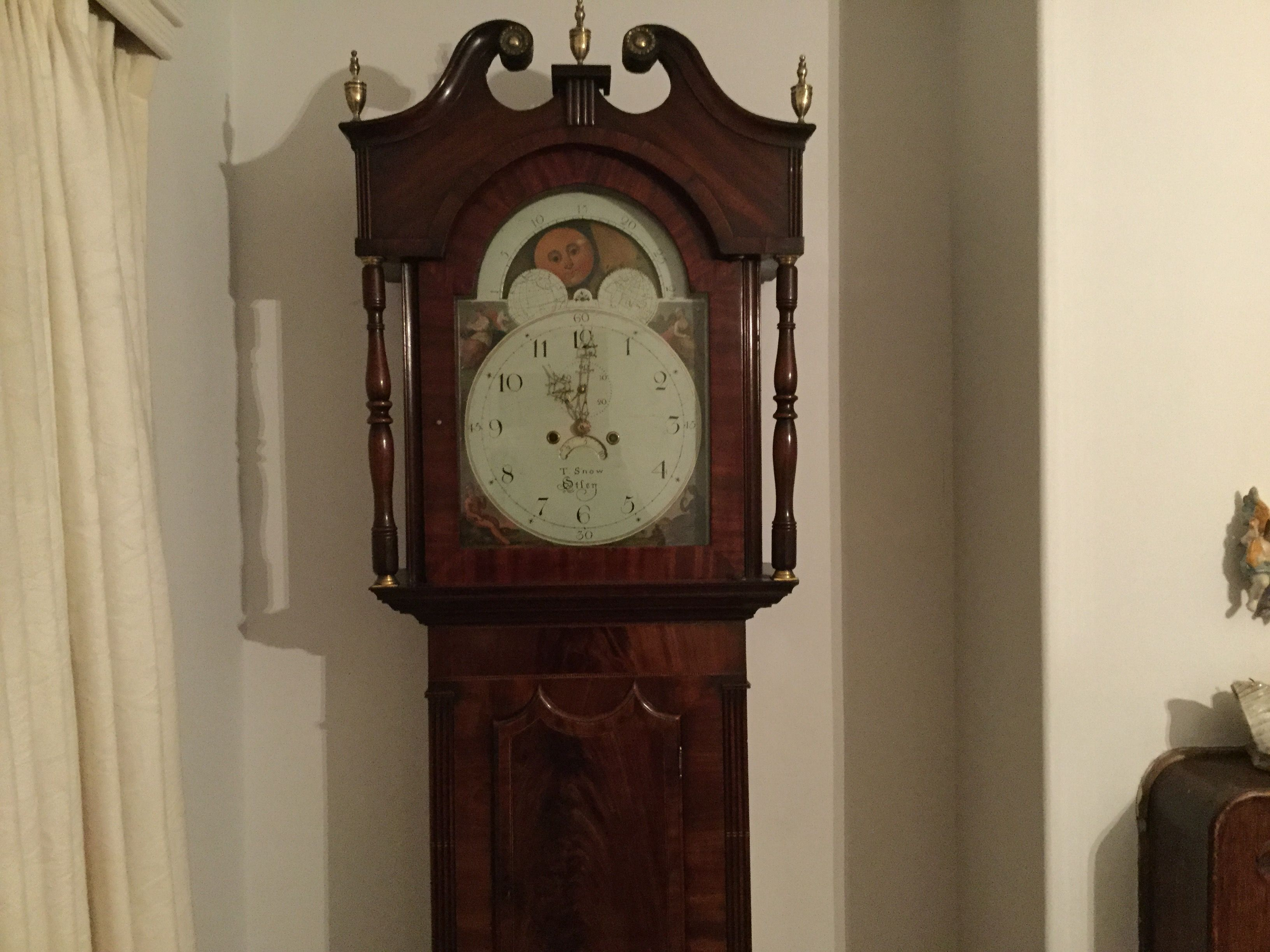 Pin by Adrian Cook on Dining Room | Antique wall clock ...
