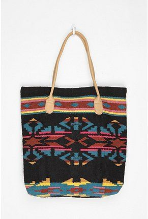 Ecote Patterned Blanket Tote Bag from UO. $29.99