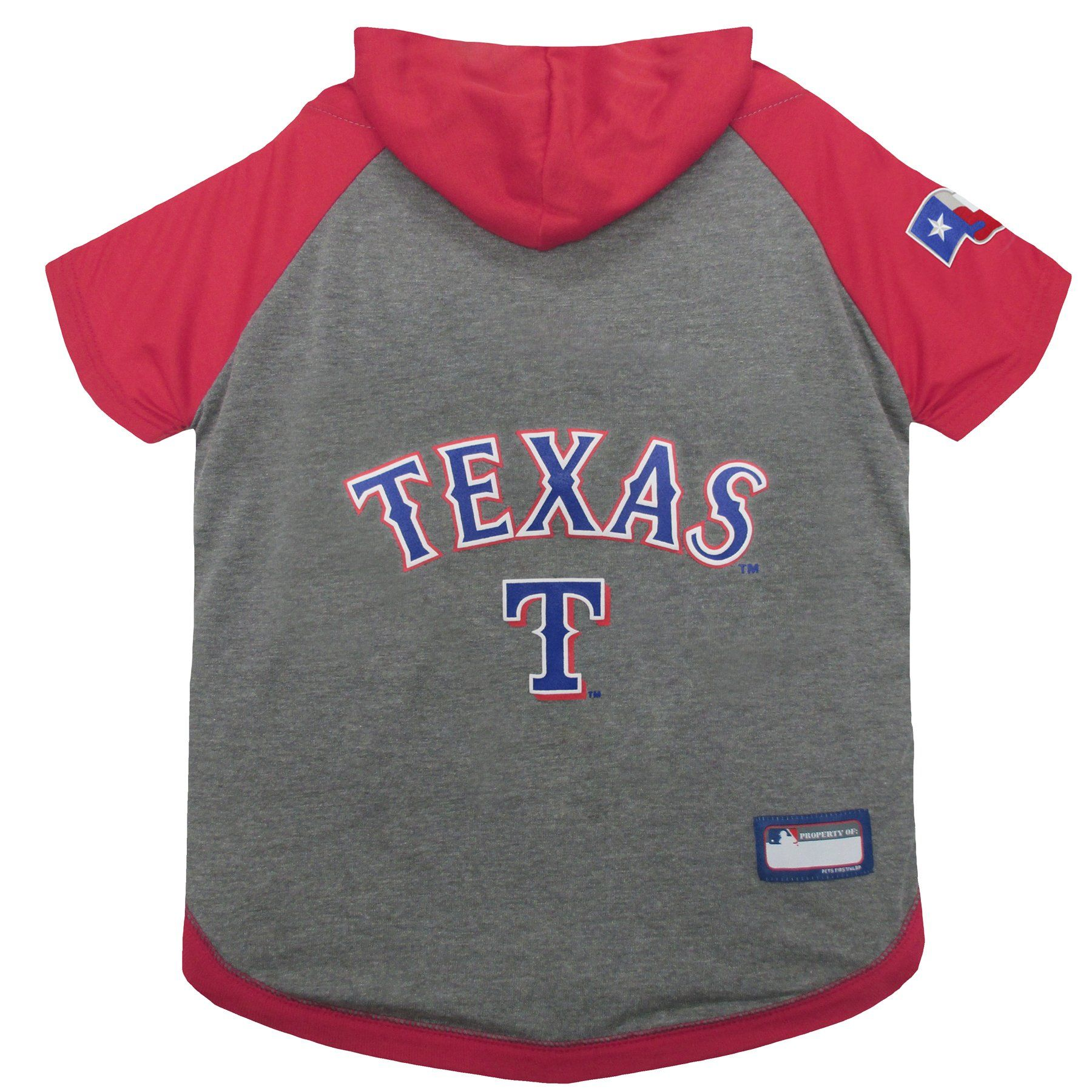 best website 01787 b334e MLB TEXAS RANGERS HOODIE for DOGS and CATS. MLB BASEBALL ...