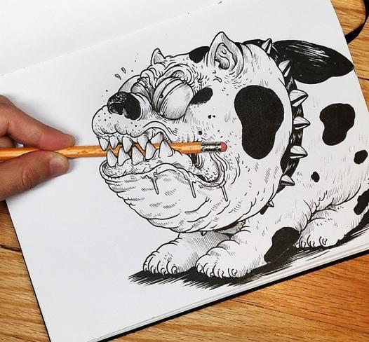 Alex Solis, el ilustrador que peleaba con sus propios dibujos