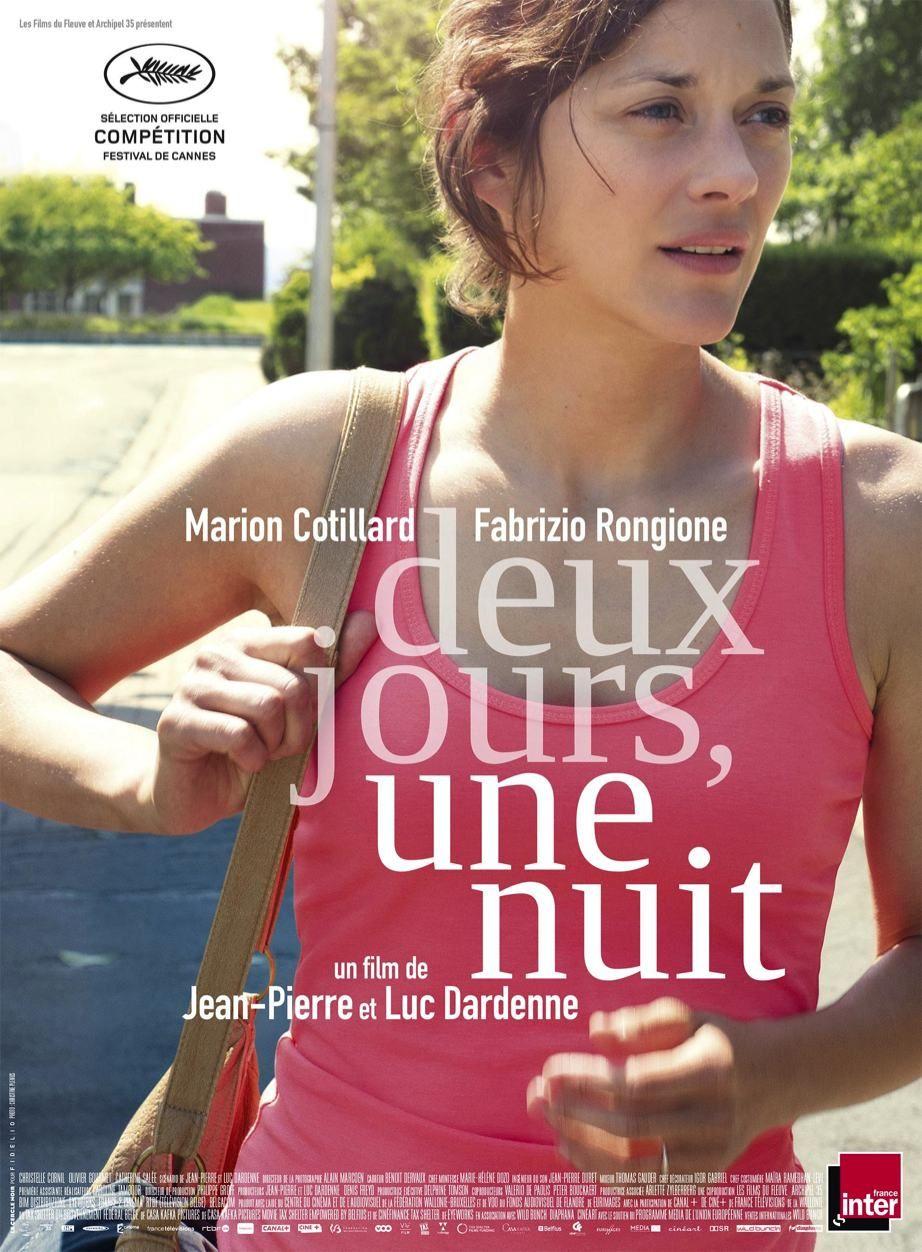 Two Days One Night Bilder Two Days One Night Poster Filme Marion Cotillard Film Musik Bucher