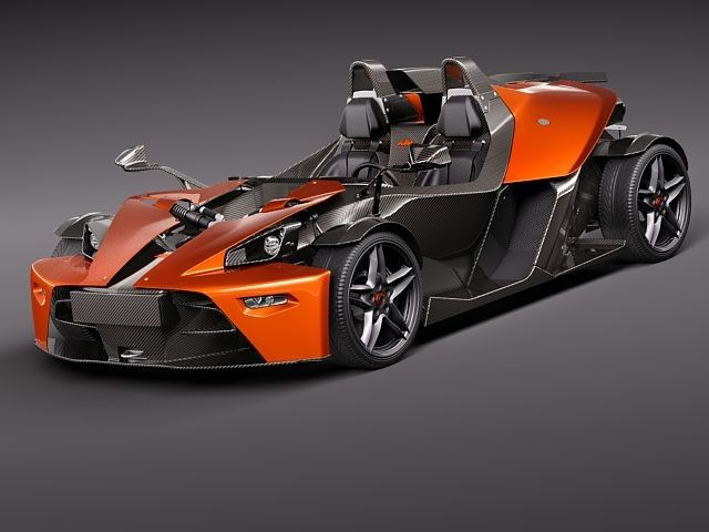 Ktm X Bow Sport 3d Model Xbow Pinterest Cars Exotic Cars And