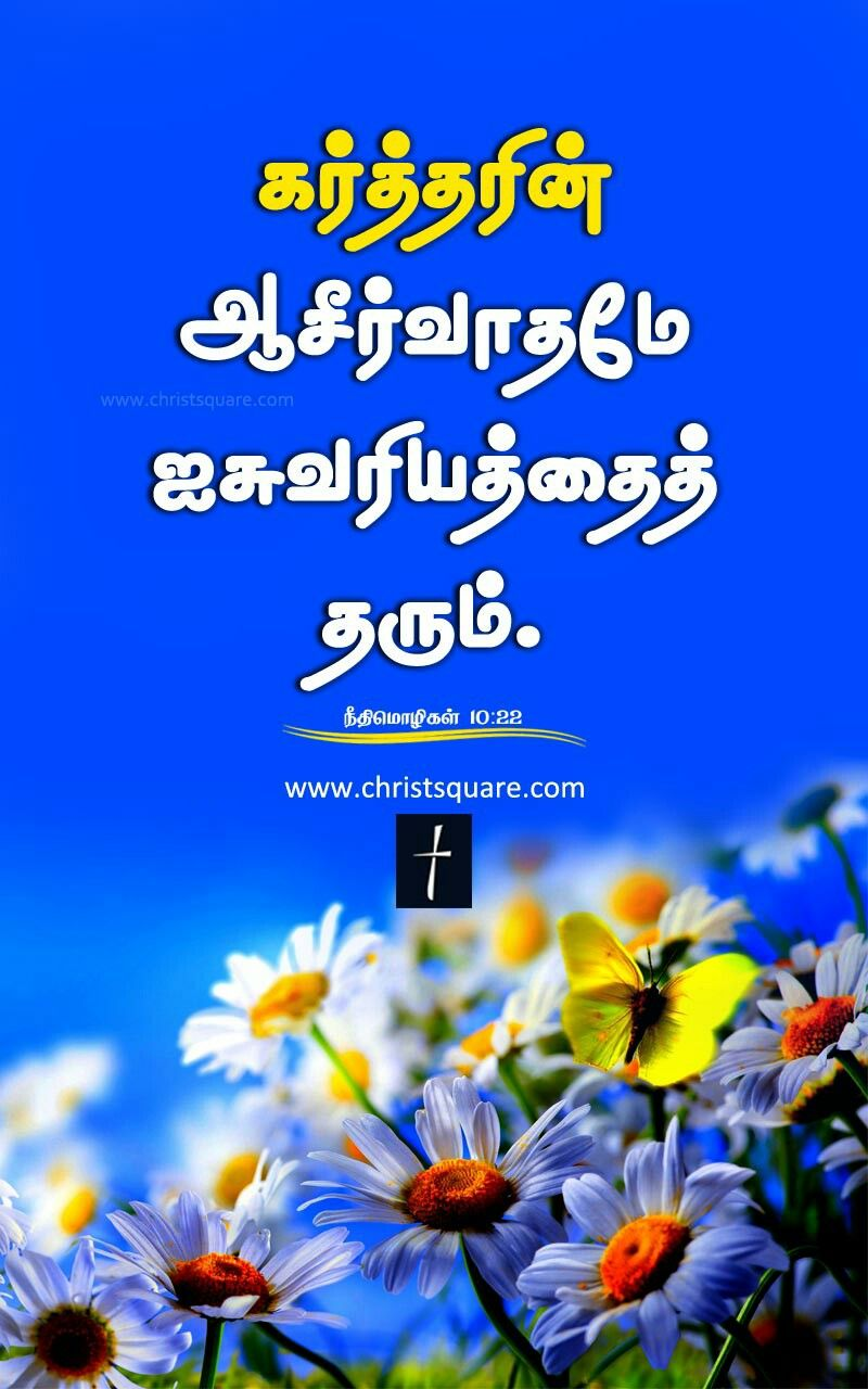 Tamil Christian Wallpaper Bible Verse Mobile Christsquare