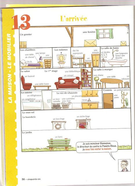 Les Meubles Teaching The Home Pinterest Maison Vocabulaire