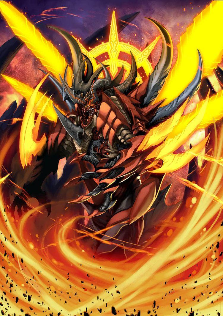 Fire Demon By Pamansazz On Deviantart Fire Demon Dragon Artwork Demon
