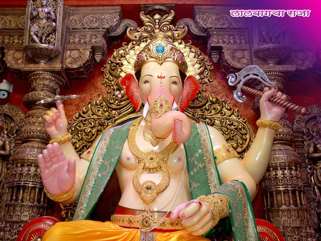 Pin On Lalbaugcha Raja Wallpapers