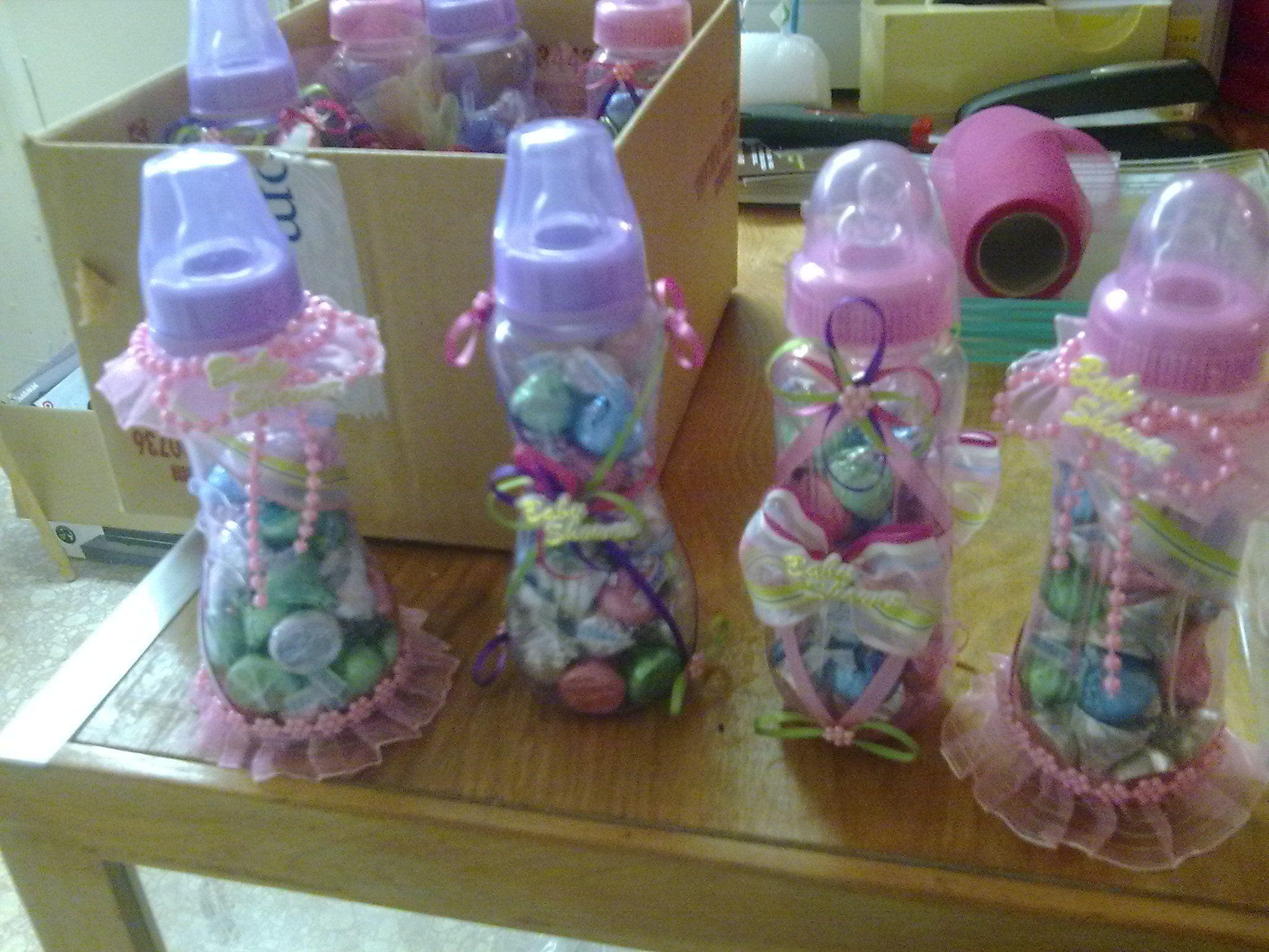 vasos decorados para baby shower Buscar con Google